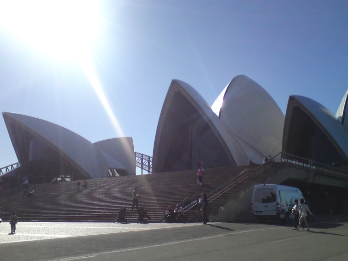 Sunshine Feeling am Opera House